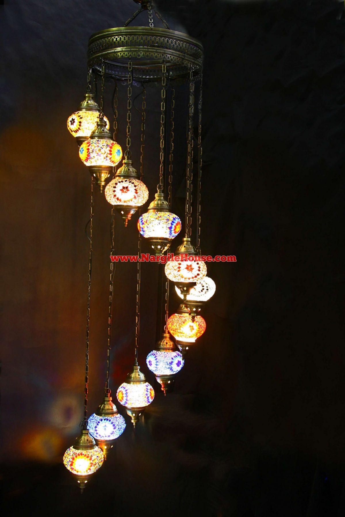 ориенталски полилей с 11 топки