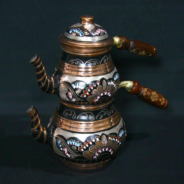 ориенталски меден чайник