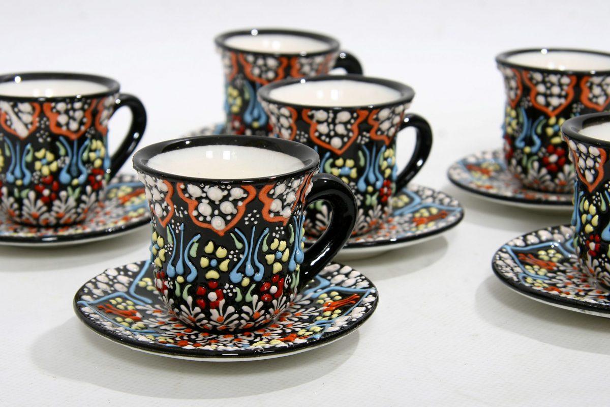порцеланов сервиз за турско кафе